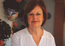 La autora de la obra, Concha Castro.
