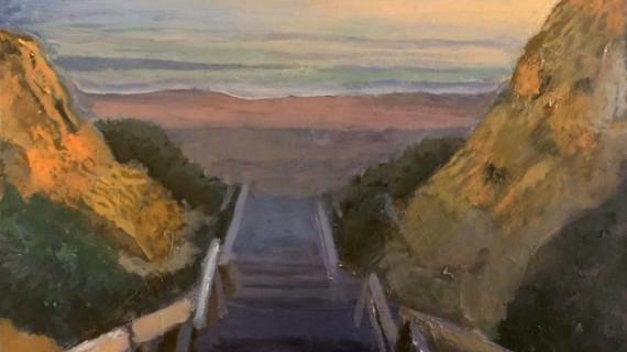 Joaquín Gómez descubre a través de sus paisajes el encanto natural de Mazagón