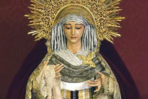 Nuestra Señora de los Dolores, titular de la Hermandad del Perdón.