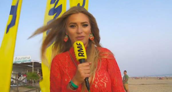 La emisora RMF ha grabado un reportaje en Huelva.