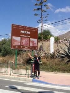 José Manuel Nebrada en su llegada a la provincia de Málaga. / Foto: Manos Unidas