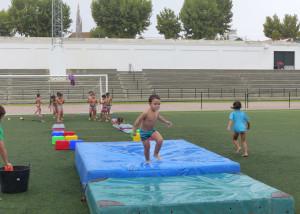 Fiesta del agua en Moguer.