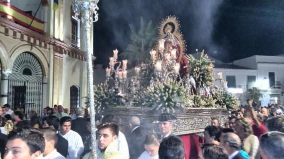 Los moguereños arropan a la Virgen de Montemayor en el día grande de la Velada