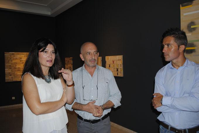 'Infinito Concreto', un retrato conceptual del pintor Joan Soler, recala en el Museo de Huelva