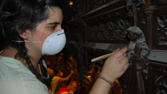 Isabel Magro, el difícil arte de la restauración