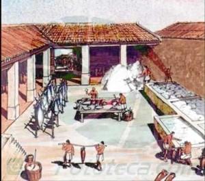 Las fábricas de salazones son una de las actividades más conocidas de la presencia romana en la Península. / Foto: youtube (fototeca.com)