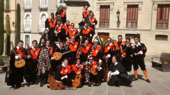 La Tuna de Empresariales de Huelva gana el primer premio en un certamen destinado a una buena causa