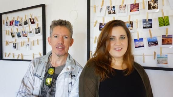 Malia León y César Carnacea exponen su 'Tenderete' en El Molino del Pintado