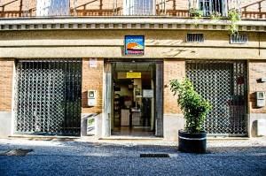Sede del Economato Resurgir en Huelva. / Foto: Cinta García.