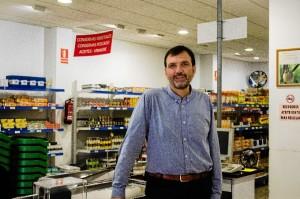 Enrique Lluch ha estado en Huelva. / Foto: Cinta García.