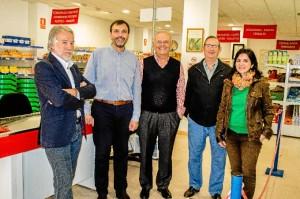 Enrique ha concedido una entrevista a Huelva Buenas Noticias en el Economato Resurgir. / Foto: Cinta García.