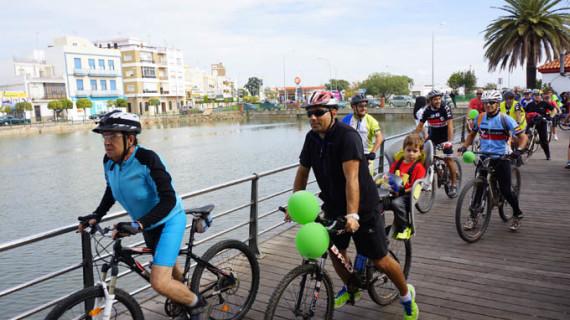 Ayamonte clausura su IV Semana de la Salud con la Gran Plaza de la Salud y el Día de la Bicicleta