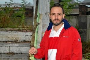 Alberto Ruiz Campos es piloto de Vueling. / Foto: Pablo Sayago.