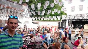 Fiesta rociera en la ciudad belga de Vilvoorde.