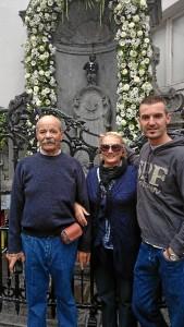El 'Manneken Pis' es uno de los monumentos más populares de Bruselas.