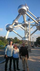 El Atomium es el símbolo de Bruselas, se construyó para la Exposición Universal celebrada en 1958.