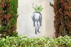Obra 'Súper', en la calle San José. /Foto: Luis Martínez Conde.