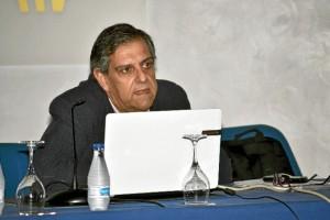 Un momento de la conferencia de Juan José García del Hoyo. / Foto: Pablo Sayago.