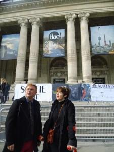 La obra de los onubenses ha gustado mucho en la ciudad francesa.