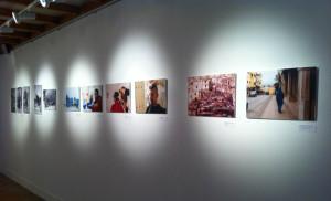 La exposición puede visitarse en la Escuela de Arte.
