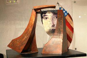 Maqueta de la escultura en honor a Gertrude V. Whitney.