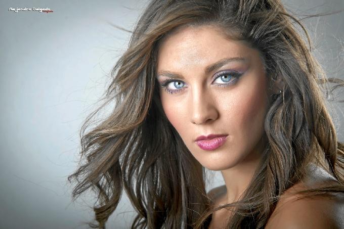 María José García, Miss World Huelva. / Foto: Alejandro Delgado.