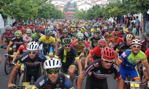 Más de 2.000 bikers se dieron cita en la prueba en Paterna del Campo.