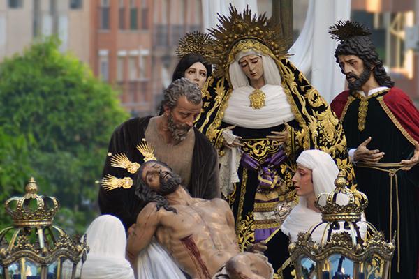 La Hermandad de la Santa Cruz el pasado Miércoles Santo