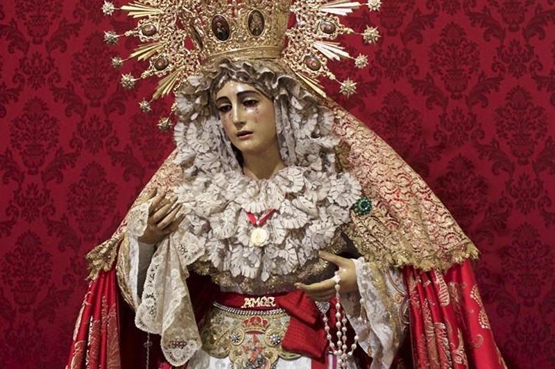 María Santísima del Amor / Foto: Hermandad de las Tres Caídas