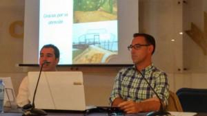 Imagen de la conferencia sobre el Muelle de Tharsis.