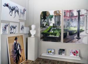 Imagen de L'Atelier, estudio del artista en Ayamonte.
