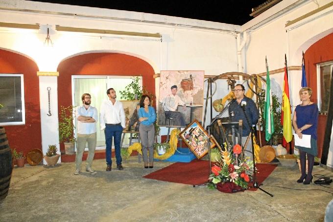 Inauguración de la Semana de la Viticultura en Bollullos.