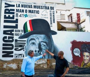 Pedro Castillo y Adrián Pérez 'Man o matic'. / Foto: Cinta García.