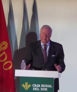 Intervención de José Luis García Palacios.
