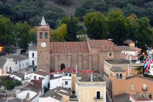 La Iglesia de San Martín se sitúa en pleno núcleo urbano