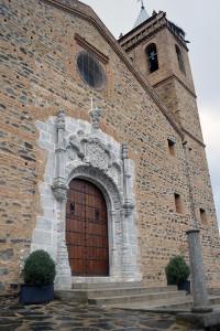 La Puerta del Perdón, única en la provincia de estilo manuelino