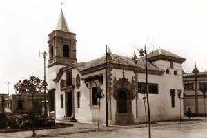 Pabellón de Huelva en la Exposición Iberoamericana de Sevilla en 1929