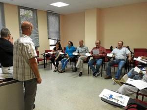 Participantes en el aula.