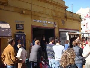 Fallada del antiguo Mercado del Carmen, un lugar inolvidable.