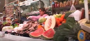 En el Mercado del Carmen no sólo había pescado.