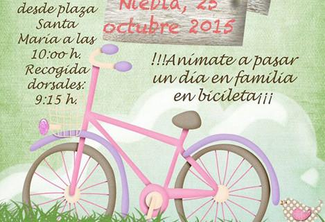 Niebla celebra el Día de la Bicicleta en Familia