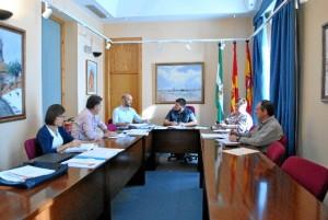Junta del Gobierno local de Zalamea.