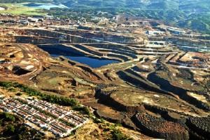 Minas de Riotinto. / Foto: Juan Carlos Cazalla. Fuente: Minas de Sierra Morena.