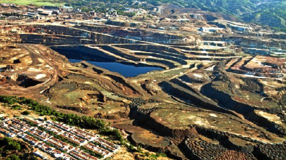 Las minas de Riotinto, calificadas como uno de los paisajes más increíbles de Andalucía