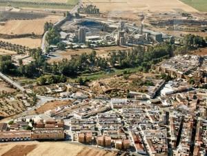 Cementera de Niebla. Foto: Marta Santofimia. Fuente: Proyecto I+D Patrimonio Industrial de Andalucía.