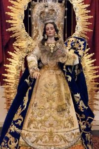 El día 8 de diciembre será la procesión de la Inmaculada Concepción por las calles de Huelva