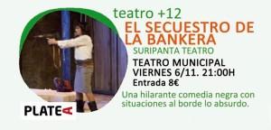 Una obra que se enmarca dentro de la programación de otoño de la Concejalía de Cultura del Ayuntamiento de Trigueros.