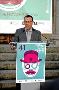 Ignacio Caraballo, en el acto de presentación. / Foto: Cinta García.