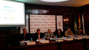 Imagen del encuentro en la Cámara de Comercio.