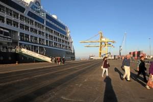 La promoción del Puerto de Huelva como escala de cruceros ha dado sus frutos.
